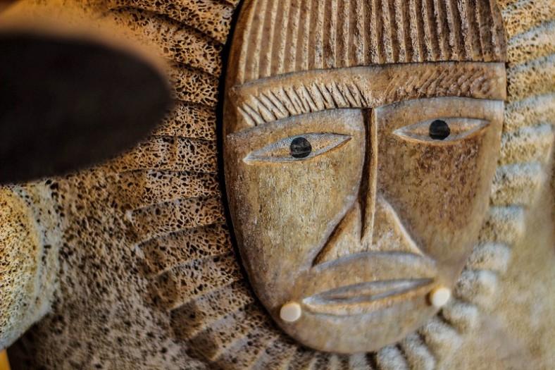 The Drummer - Alaskan native carving